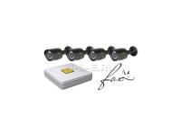 Комплект видеонаблюдения FOX TVR K-4.4 TVI/CVI/AHD 2.0 Mpix, IPC 1080p