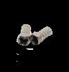 F-штекер,на кабель RG6U, 3-проточки Большая грань 006 (ЦИНК-никель)