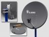 Сетчатая спутниковая антенна LANS-65 (MS 6506 GS/AS) Тёмная